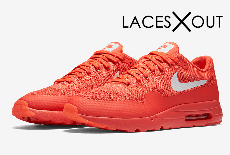"Air Max 1 Ultra Flyknit ""Bright Crimson"" Release Date"