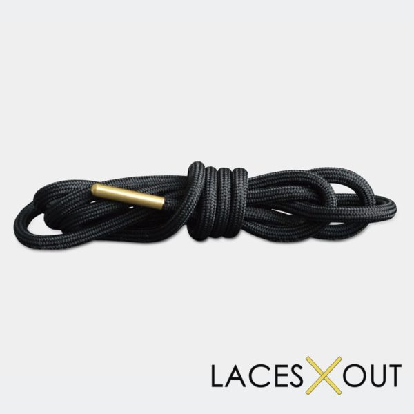 Black and Gold Shoelaces