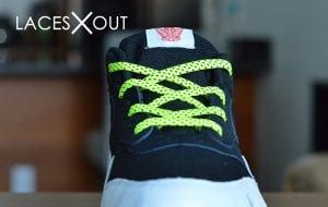 Neon Air Max laces