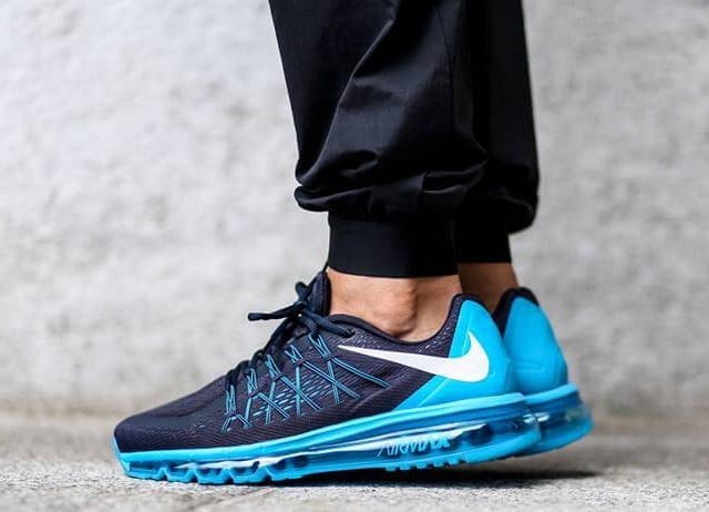 Nike Air Max 2015 x Blue Lagoon, Bright Crimson