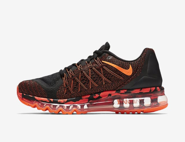 nike air max 2015 black orange camo