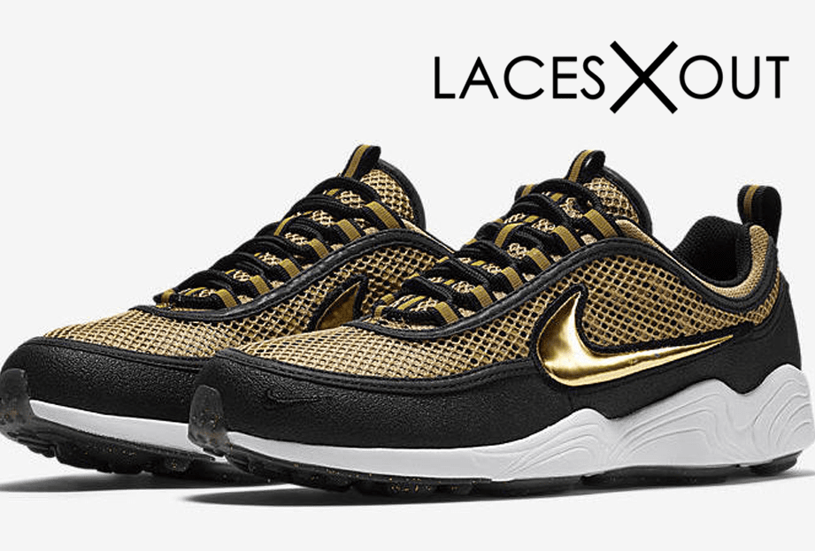 "NikeLab Air Zoom Spiridon ""Metallic Gold"" Release Date"